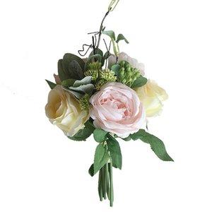 2019 Wedding Artificial Peony Hydrangea Flower Home Wedding Party Birthday New Year Valentines day Floral Decor