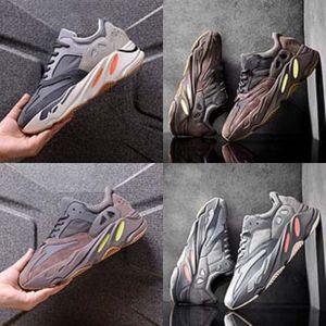 Apakowa meninos e meninas respirável Sneakers Unisex Little Kids Gym Lightweight Sports Kanye West 700 Kanye West 700 Sapatos Para Outdo # 637