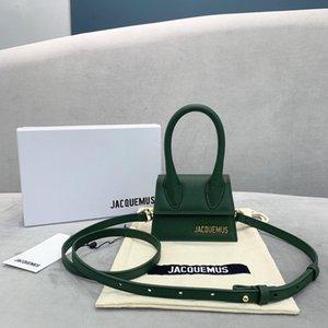 bolso nuevo Jacquemus Mini amantes esposa hija regalos cocodrilo mensajero del hombro del patrón bolsas crossbody femeninos