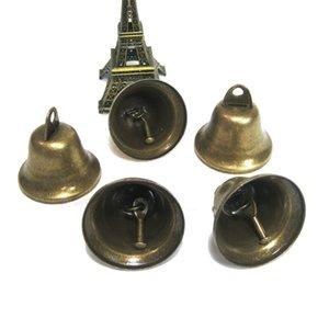 38mm de Bell Métal Vintage Accueil Hanging Décorations Wind Chimes Bricolage Accessoires Artisanat Animaux Jingle Bell Ornement Décorations de Noël
