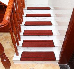 Şimdi çizgili merdiven halı halı adım ped tutkal gerektirmeyen kendinden yapışkanlı temiz kolay anti-skid yapılan