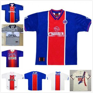 90 92 Retro ANELKA OKOCHA WEAH Soccer Jersey 1993 94 95 96 00 01 98 99 Wörns Maillot de football Ronaldino ancien maillot manches courtes