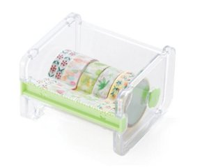 Cancelleria calda Masking Tape Cutter Washi Tape Storage Organizer Cutter Ufficio Tape Supplies Dispenser per ufficio