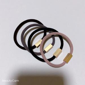3 moda moda 4 colores letra de caucho c / v / g traje de cuerda de la cabeza del anillo de pelo para la cadena de mano accesorios elásticos del cabello Tocado VIP regalo