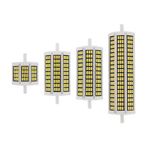 50PCS / LOT 10W 20W 25W 30W R7S LED лампа 110V 220V SMD5730 Светодиодные лампочки R7s J118 J78 Tube Заменить Галогеновый прожектор