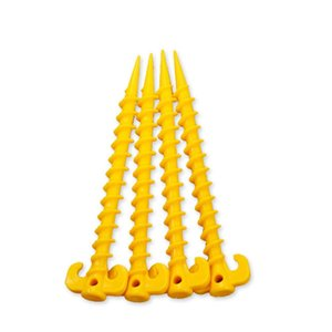 20pcs Plastic Tent Peg Nail Spike Tents Building Pegs Outdoor Hiking and Camping Camping & Hiking Sleepping Tents Tools Mat Stake Nail eKk3#