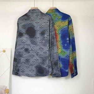 2020 3D Harajuku Printing New Men's Shirt Fashion Luxury Men's Casual Designer