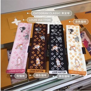 brand silk scarves exquisite printed silk scarves men and women hair belt fashion handbags with bow scarf scarf