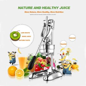 Нержавеющая сталь ручного ручного пресс соковыжималка соковыжималка цитрусовый лимон оранжевый гранат фруктового сок Extrac