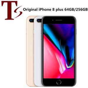 Reformiert Original Apple iPhone 8 Plus 5,5 Zoll Fingerabdruck iOS A11 Hexa-Core 3GB RAM 64/256 GB ROM entriegeltes 4G LTE Telefon