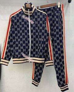 xshfbcl 2020 new fashion sportswear suit baseball jacket men and women couple sports zipper pants suit ladies lussuoso sports pants M-2XL