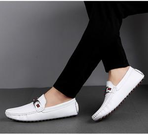 Trend Newest designer Men Shoes Genuine Leather Luxury Flat Walking Shoe Dress Party Wedding Shoes 31