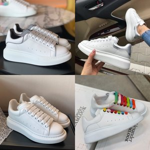 Nuovo Dener Soes donna Wees Tick Soled Leater Sneakers La-Up Breatable Tenis Feminino casual Cunky Tick Soled Leater Sneakers signore Zapato # 653