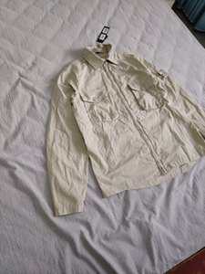 19SS 103F2 FANTASMA PIEZA Sobrecamisa el algodón de nylon TELA TOPST0NEY moda chaqueta de la capa de la camisa mujeres de los hombres