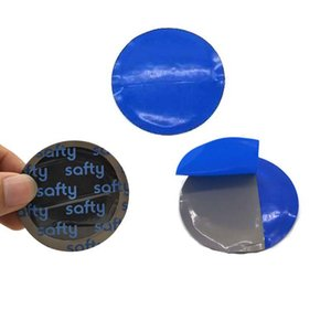Ultra Thin Tire Repair Patch 42mm Car Round Natural Rubber Tire Tyre Puncture Repair Cold Patch Tubeless Patches