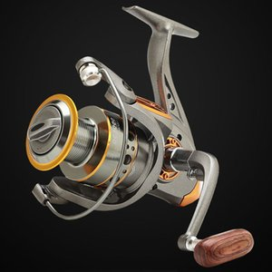 Paseo Pescado Carrete de pesca DC1000-7000 Sin espacio Metal Spool Max Drag 10kg Pike Spinning Reel High Speed ​​5.2: 1 Reel Pesca Gear Pesca