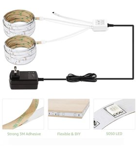 New Light LED Strip Lights RGB 16.4Ft 5M SMD 5050 DC12V Flexible les strips lights 50LED meter 16Different Static Colors