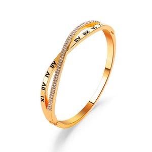 Europe and America new hot cross Roman Bracelet women Fashion Cross Bracelet Hot Hand Ornaments retail and wholesale