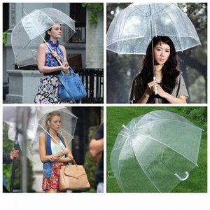 Big Clear Cute Bubble Deep Dome Umbrella Gossip Girl Wind Resistance Umbrellas Household Sundries Umbrellas LSF20
