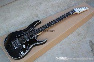 Free shipping Wholesale Custom Guitar Shop 6 Strings ibz Rosewood Dimarzio Jem 7V Floyd Rose Electric Guitar