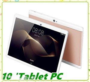 Alta qualidade Octa Núcleo de 10 polegadas MTK6582 IPS capacitiva touch screen dual sim 3G telefone tablet pc android 6.0 4GB 64GB MQ06