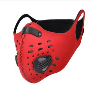 DHL Ship! Outdoor Sports Protective PM2.5 Mask for Riding Waterproof Dustproof Anti-dust Face Mask with Breathing Valve Built-in Filter
