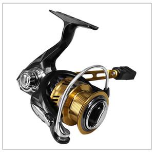 Luckinvoker рыболовная катушка 7.1: 1 Макс Drag 8Kg Кастинг Мультипликаторы Reel катушки металла Spinning Reel Black Gold 2500 3500 Series