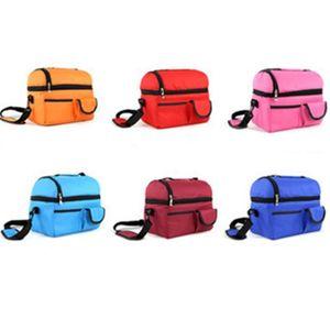 Manter fresco Saco do almoço de inclinação Bento Bags Breast Feeding Milk Bottle Gelo Popular com várias cores 12 5lta J1