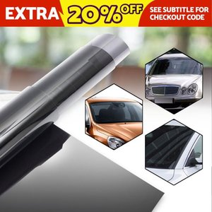 50x300cm Car Window Car Light Headlight Solar Tint 300CM x 50CM Film Tinting Shade 15% Light Transmission Home Office Film Stick