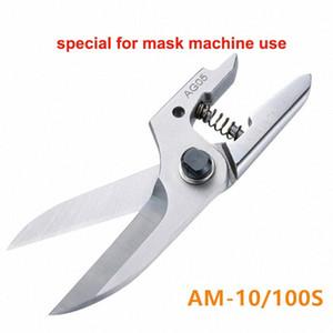 Taiwán tijeras neumáticas aire de las cuchillas de la máquina máscara desechable cizallamiento alicates de alambre oído XG-23A automáticos mecánicos de cizallamiento qP51 #