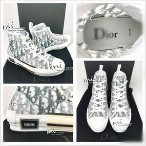 Диор Конверс Homme косые X Kaws Ким Джонс b23 B22 Kanye тапок высокой корзины chaussure техническая холст обувь Basket Баскетбол обувь