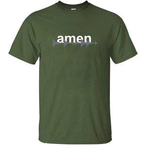 File Dj Amen Wav Drum and Bass N Synth Music T-shirt per Uomo grafico grigio Streetwear uomini e donne magliette di alta qualità