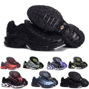 2019 Newest Men Zapatillas TN Designers Sneakers Chaussures Homme Men Basketball Shoes Mens Mercurial TN Running Shoes Eur40-46 GTR7N