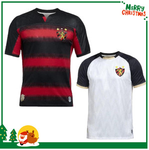 (20) (21) 브라질 스포츠 클럽 레시 페 Goleiro camisa 레시 페의 축구 유니폼 레드 블랙 스트라이프 셔츠 2,020 헤르 난 샌더 축구 셔츠를 할
