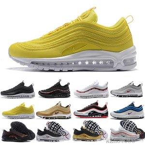 2018 Newest casual Tripel White Metallic Gold Silver Bullet Best Quality White 3m Premium Running Shoes Men Women Sneakers With Gift RSD9K