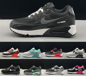 Bambini scarpe sportive Presto 90 II Bambini Scarpe da corsa Nero bianco bambino neonato della scarpa da tennis per bambini scarpe sportive dei ragazzi delle giovanili B56982