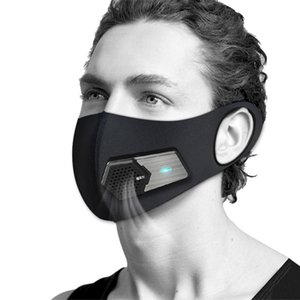 NEW PM2.5 Staubdichtes Maske Smart-Ventilator Masken Anti-Pollution Pollen Allergie Breathable Gesicht Schutzhülle Multi Layer Protect