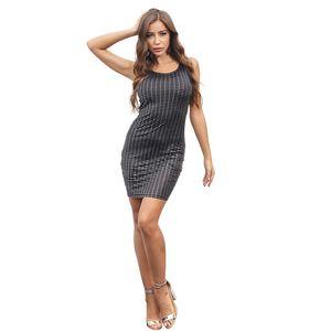 Lybofly Dress Women Sexy Club Dresses Bodycon Party Nightclub Mini Dress Vestido Lentejuelas O-Neck Women Clothes 2020