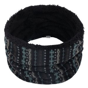 Cycling Caps & Masks Winter Double-Layer Neck Warm Outdoor Windproof Infinity Scarf Super Soft Loop Scarves