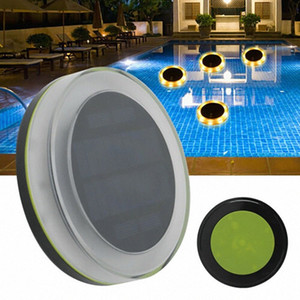 Solar LED Floating Party Decorative Light With Remote Control IP68 100% Waterproof Energy- Saving Swimming Pool Accessories 1MIC#
