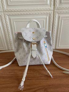 2020 hot classic colors brwon letter logo leather women handbag fashion men leather shouler bag free shipping 18.5-28-11.5cm M44026 01