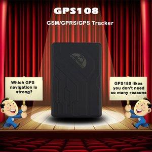 Dispositivo impermeabile GPS GPS108 TK108 Vehicle Tracking per con il movimento / Over Speed / sensore / anti-manomissione Locator allarme