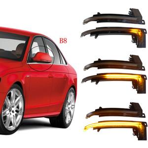 동적 전원을 켜고 신호 LED 사이드 미러 표시 깜박이 리피터 등 아우디 A3 8P A4 A5 B8 Q3 A6 C6 S6 B8.5 S5 RS5 RS4