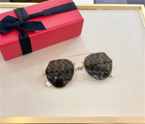 Nuovo pilota design della moda occhiali da sole 0329 struttura in metallo lenti stampati di alta qualità popolare stile semplice best-seller occhiali di protezione UV400