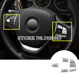 For BMW 1 2 Series F20 F22 Inner Steering Wheel Button Trim Cover 2012-2018 5pcs