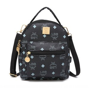 Summer 2019 new single shoulder messenger Women pouch printed bag fashion small fresh lady bag small backpack bags