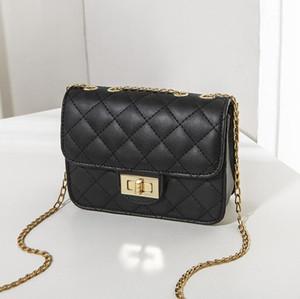 Bolso bordado bloqueo de rosca de la cadena de la moda de las mujeres bolso pequeño cuadrado de 2020 el nuevo solo la bolsa de mensajero