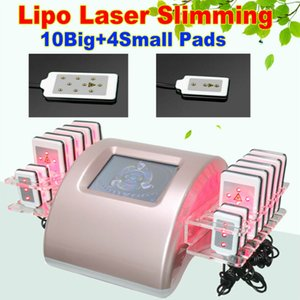 2020 NEWEST 14 laser pads ! best sale low level laser therapy weight loss slimming machine CE