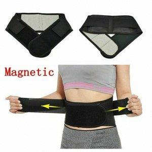 Ajustable Tourmaline Self-riscaldamento terapia magnetica cintura di sostegno lombare della fitness in vita posteriore del gancio di sostegno O0Ii #