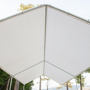 New Carport Car Canopy Versatile Shelter 3x6 Car Shed Summer Canopy with 6 Foot Tubes White Bicycle Awning High Quality Waterproof Tent